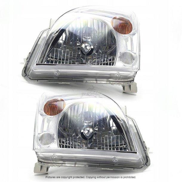 Frontlykter Toyota Land Cruiser 120 03-09