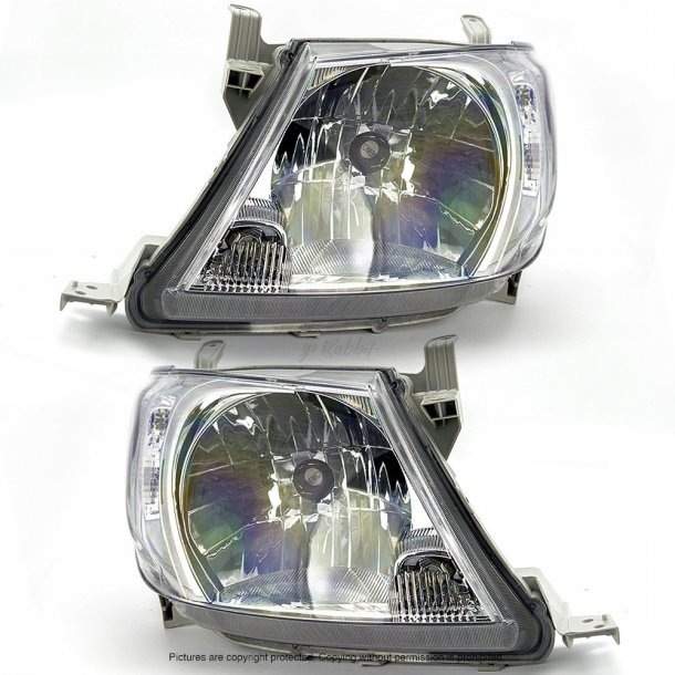 Frontlykter Toyota Hilux 08-11