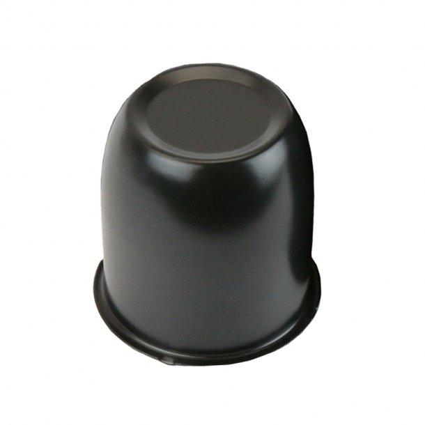 Cap til felger - svart - diameter på 74 mm
