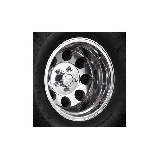 Felg ASP 1430 10x15 5x114,3 ET-42 polished - TUV-godkjent - Jeep Wrangler TJ