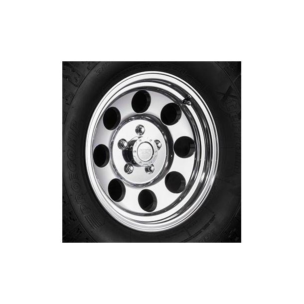 Felg ASP 1430 7x15 5x114,3 ET0 polished - TUV-godkjent - Jeep Wrangler TJ