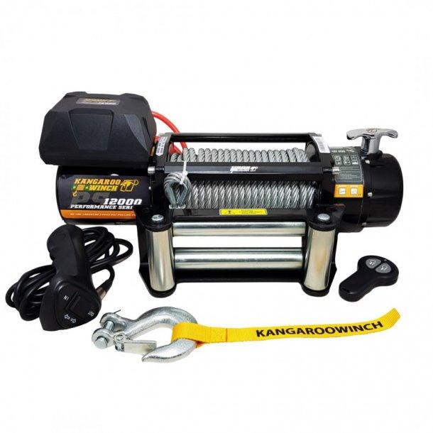Vinsj Kangaroowinch 12000Lbs (5443kg) Performance Series 12V
