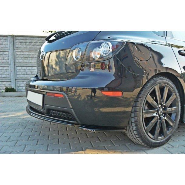 Rear Side Splitters Mazda 3 Mps Mk1 (Preface)
