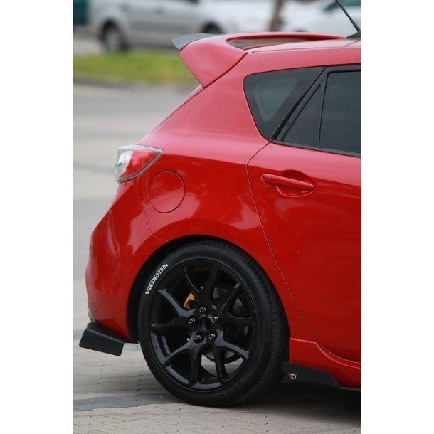 Rear Side Splitters Mazda 3 Mk2 Mps