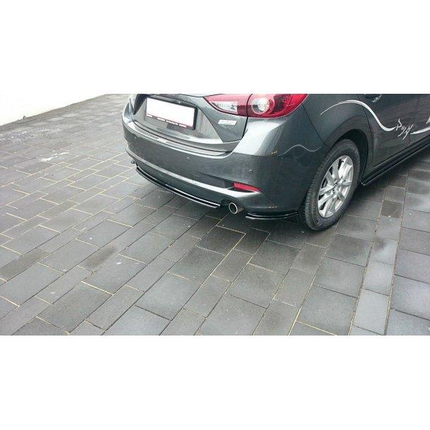 Central Rear Splitter Mazda 3 Bm (Mk3) Facelift (Without Vertical Bars)