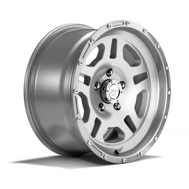 Felg ASP 1440 8,5x17 5x127 ET+10 Sølv -TÜV-godkjent