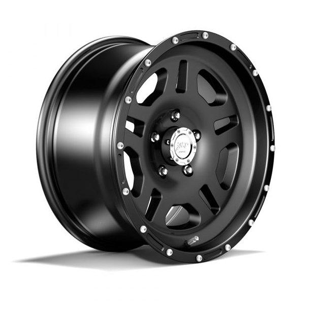 Felg ASP 1440 8,5x17 5x127 ET+10 black -TÜV-godkjent