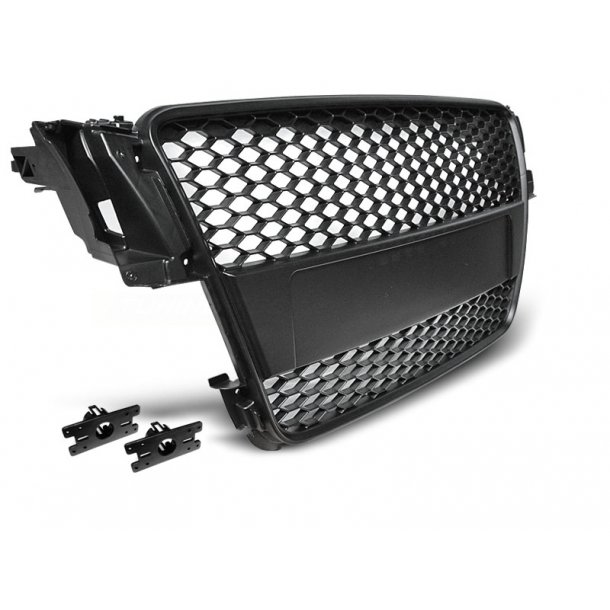 Grill AUDI A5 07-06.11 BLACK RS-STYLE