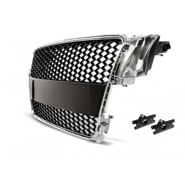 Grill AUDI A5 07-06.11 CHROME RS-STYLE