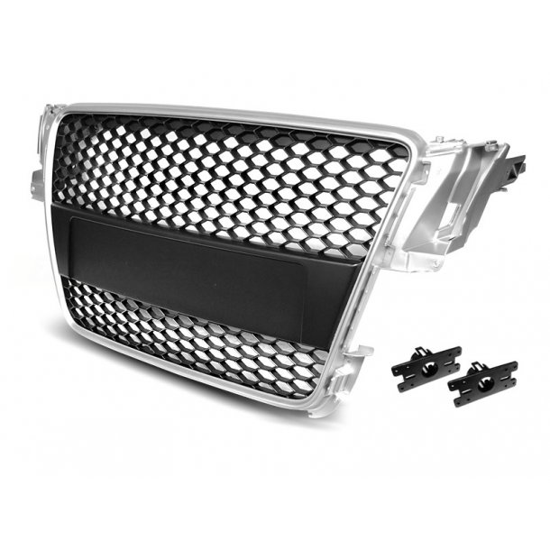 Grill AUDI A5 07-06.11 Sølv RS-STYLE