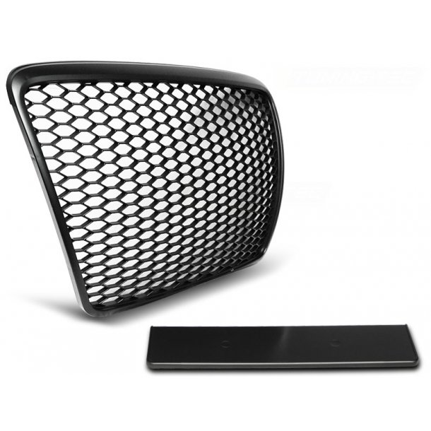 Grill AUDI A6 C6 09-11 BLACK RS-STYLE