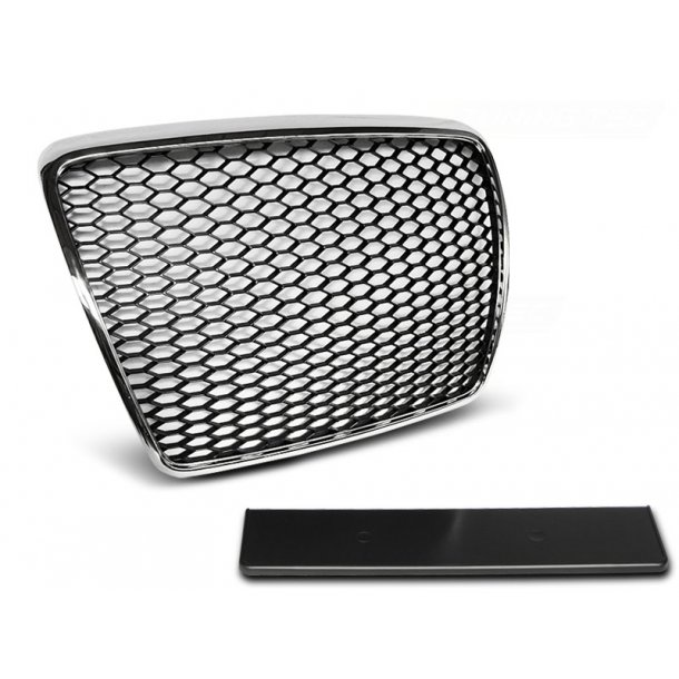 Grill AUDI A6 C6 09-11 CHROME RS-STYLE