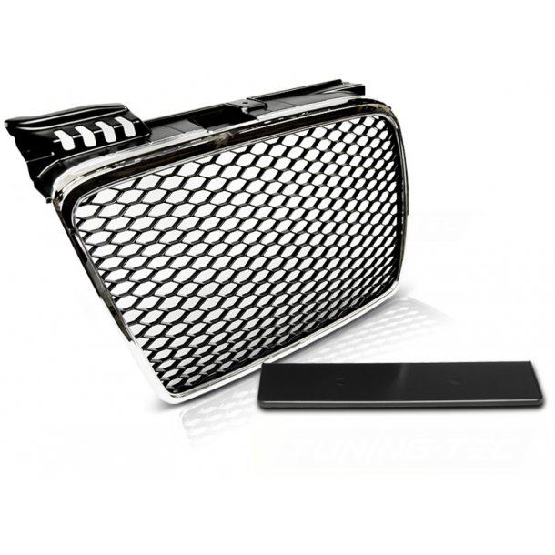 Grill AUDI A4 (B7) RS-TYPE 11.04-03.08 CHROME
