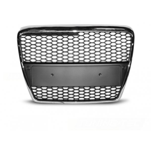 Grill AUDI A6 (C6) RS-TYPE 04.04-08 CHROME