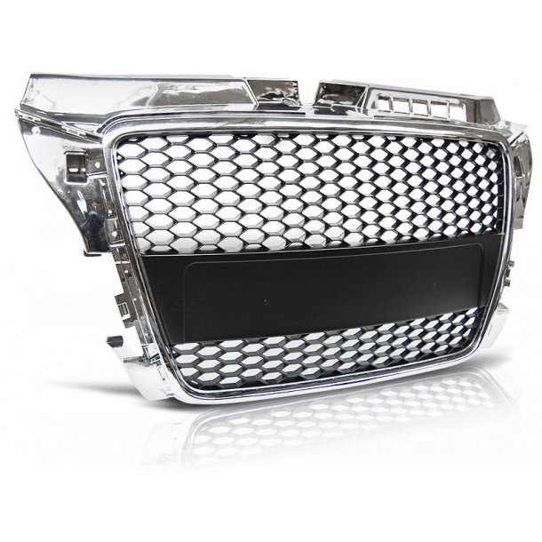 Grill AUDI A3 (8P) RS-TYPE 04.08-07.12 CHROME