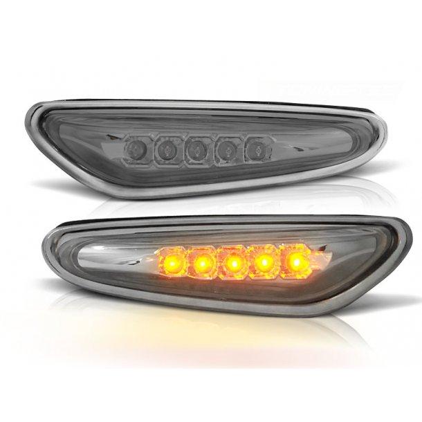 Blinklys BMW E46 09.01-03.05 CHROME LED
