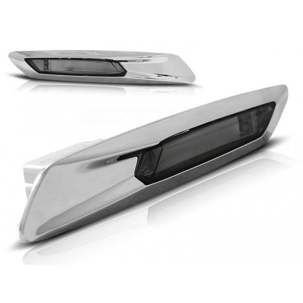 Blinklys BMW F10/F11 10-13 Sølv SMOKE
