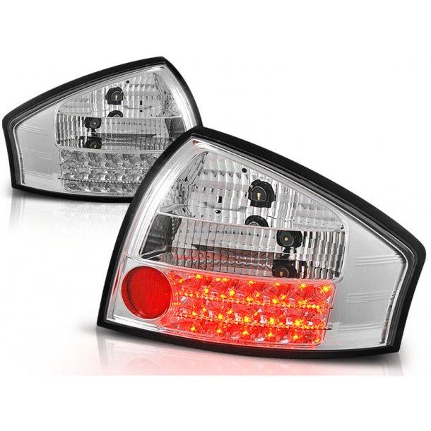 Baklykter AUDI A6 05.97-.05.04 CHROME LED
