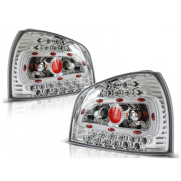 Baklykter AUDI A3 08.96-08.00 HATCHBACK 3D/5D CHROME LED
