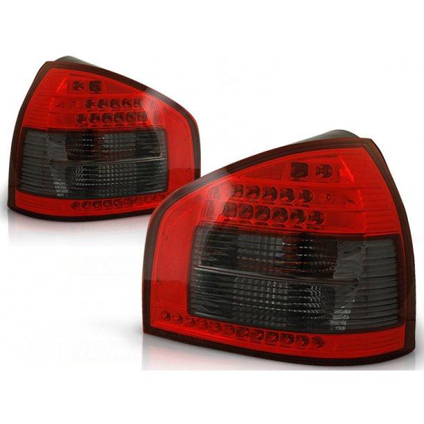 Baklykter AUDI A3 08.96-08.00 HATCHBACK 3D / 5D RED SMOKE LED