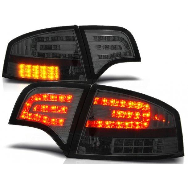 Baklykter AUDI A4 B7 11.04-03.08 SEDAN SMOKE LED