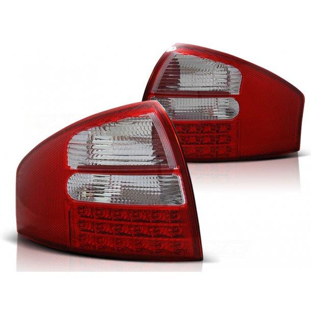 Baklykter AUDI A6 05.97-05.04 SEDAN R-W LED