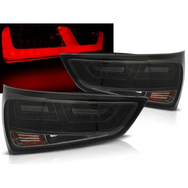 Baklykter AUDI A1 2010-12.2014  SMOKE LED