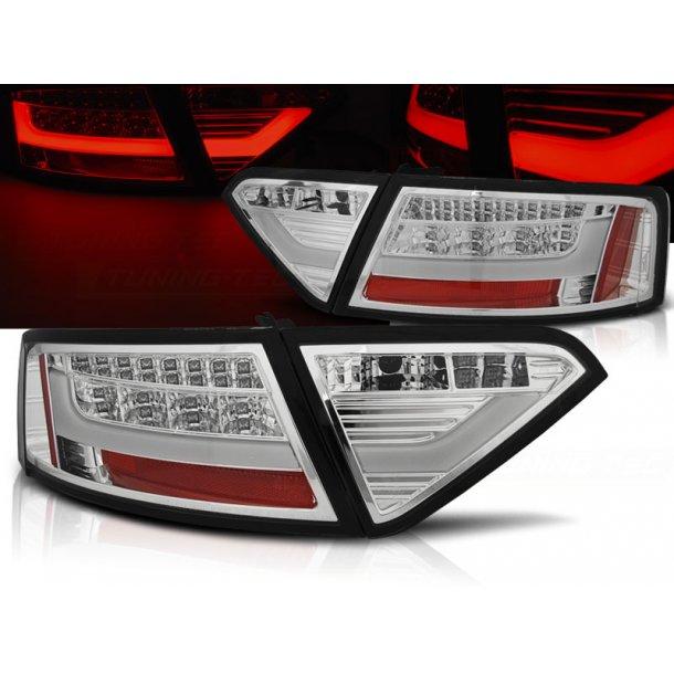 Baklykter AUDI A5 07-06.11 COUPE CHROME LED BAR