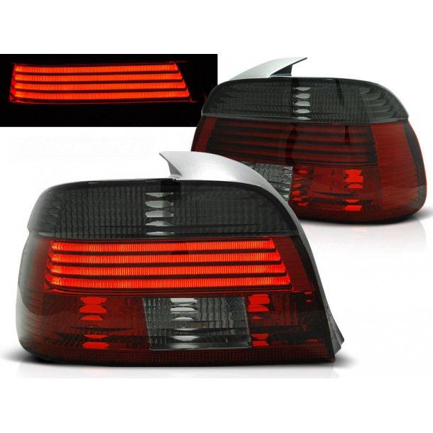 Baklykter BMW E39 09.00-06.03 RED SMOKE