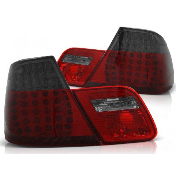 Baklykter BMW E46 04.99-03.03 COUPE RED SMOKE LED DEPO