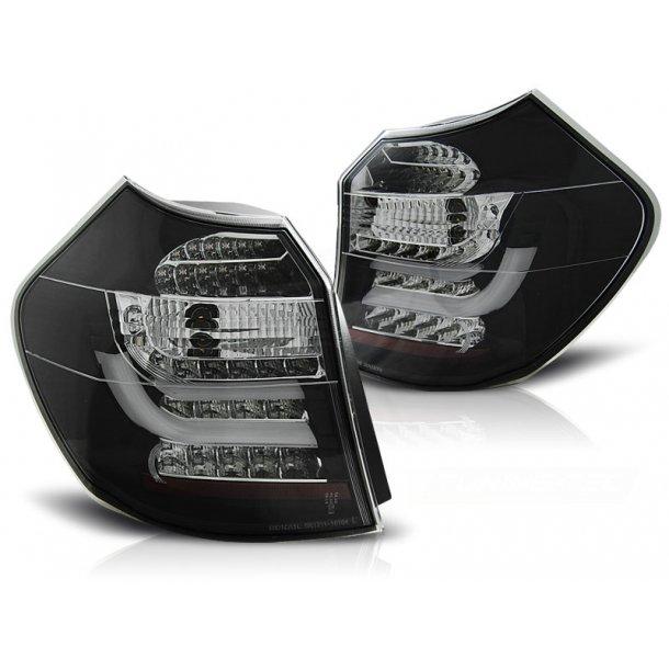 Baklykter BMW E87/E81 04-08.07 BLACK LED BAR