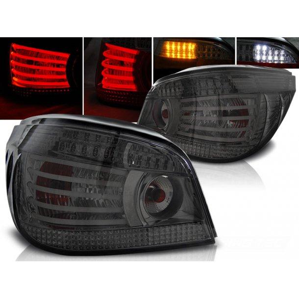 Baklykter BMW E60 07.03-07 SMOKE LED/BULBS