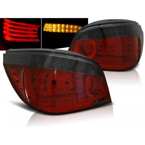 Baklykter BMW E60 07.03-07 RED SMOKE LED