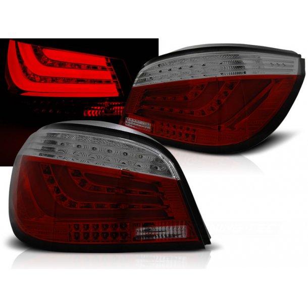 Baklykter BMW E60 07.03-02.07 RED SMOKE LED BAR