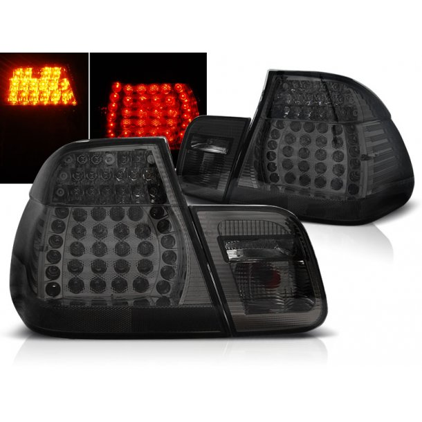 Baklykter BMW E46 05.98-08.01 SEDAN SMOKE LED