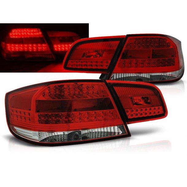 Baklykter BMW E92  09.06-03.10 RED WHITE LED