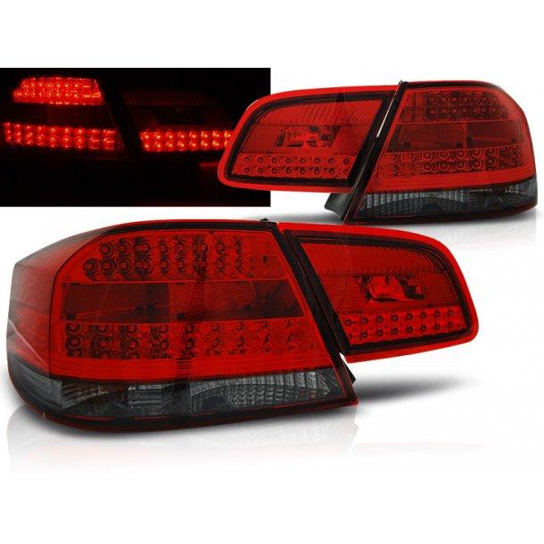 Baklykter BMW E92  09.06-03.10 RED SMOKE LED