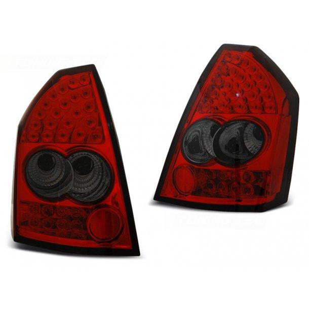 Baklykter CHRYSLER 300C 05-08 RED SMOKE LED