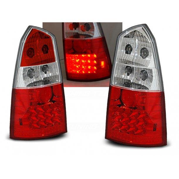 Baklykter FORD FOCUS MK1 10.98-10.04 ST.VOGN RED WHITE LED