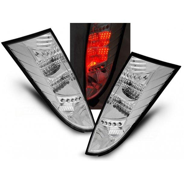 Baklykter FORD FOCUS MK1 10.98-10.04 CHROME LED