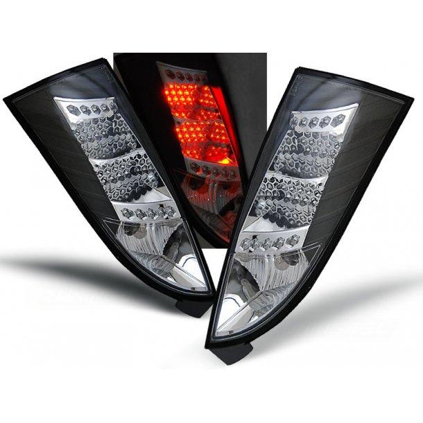 Baklykter FORD FOCUS MK1 10.98-10.04 BLACK LED