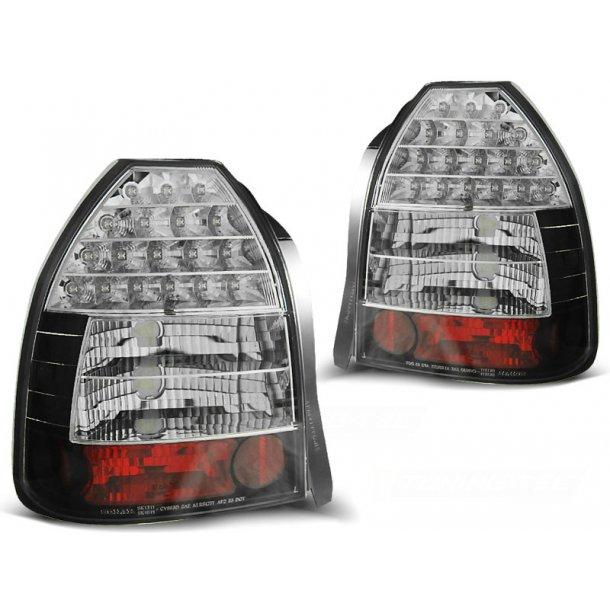 Baklykter HONDA CIVIC 09.95-02.01 3D BLACK LED