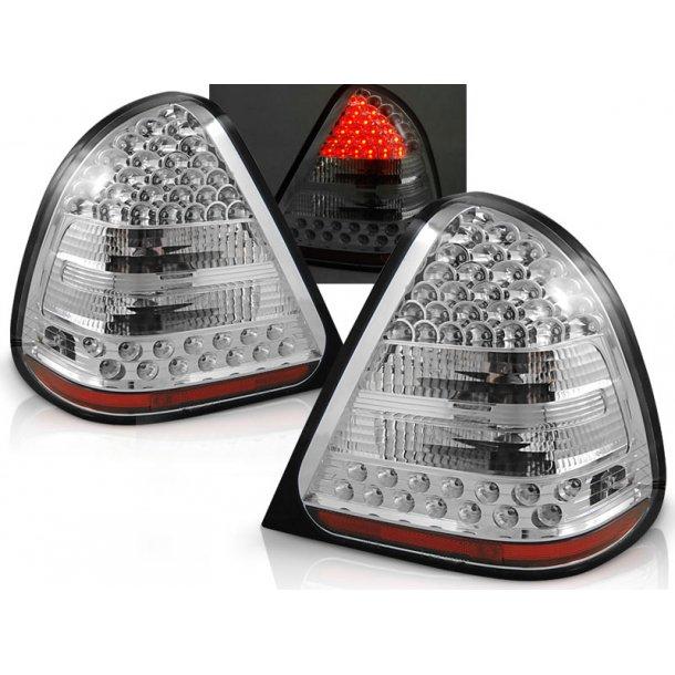 Baklykter MERCEDES W202 C-KLASSE 06.93-06.00 CHROME LED
