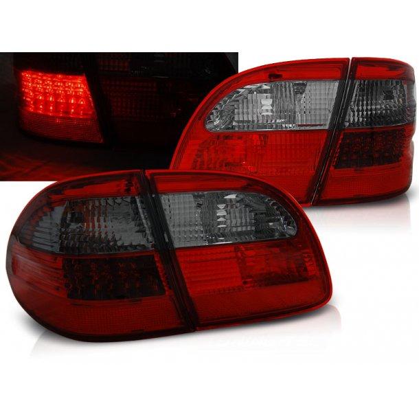 Baklykter MERCEDES W211 ST.VOGN E-KLASSE 02-06 RED SMOKE LED