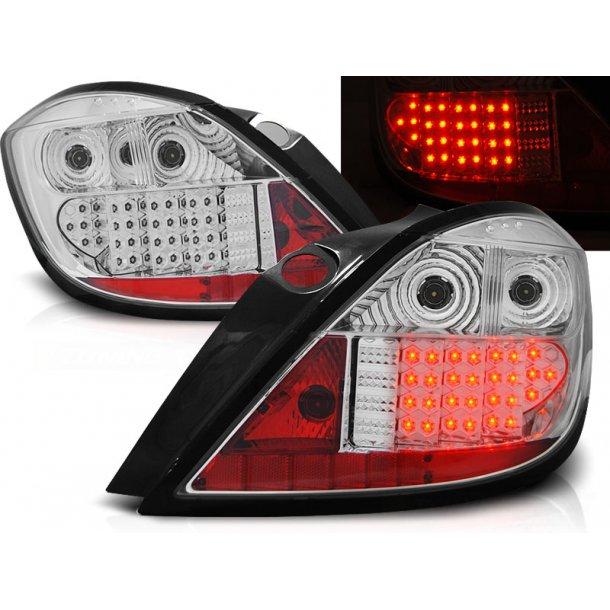 Baklykter OPEL ASTRA H 03.04-09 5D CHROME LED