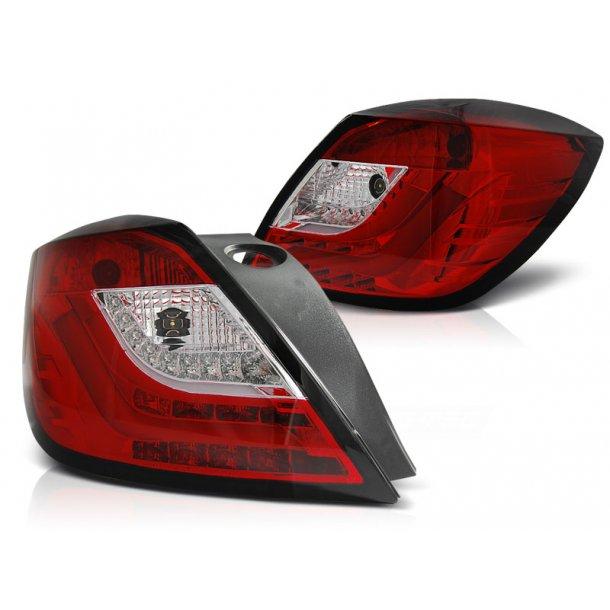 Baklykter OPEL ASTRA H 03.04-09 3D GTC RED WHITE LED