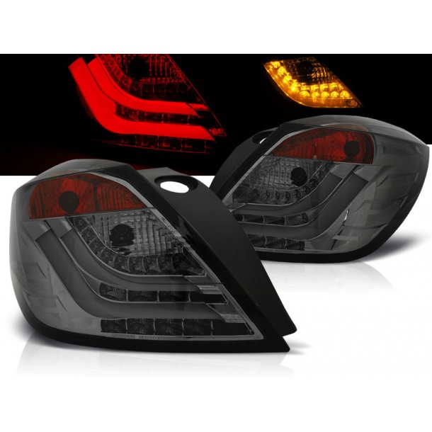 Baklykter OPEL ASTRA H 03.04-09 3D GTC SMOKE LED