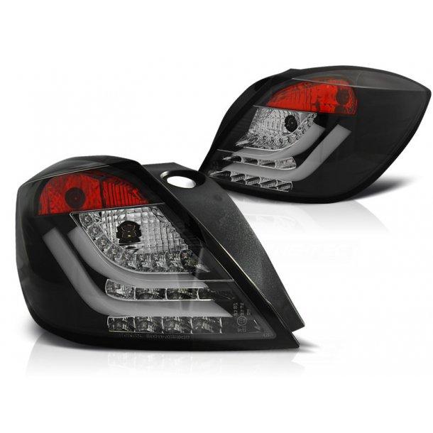 Baklykter OPEL ASTRA H 03.04-09 3D GTC BLACK LED