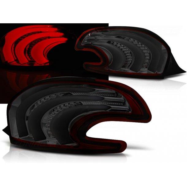 Baklykter PEUGEOT 208 4.12-06.15 RED SMOKE LED BAR