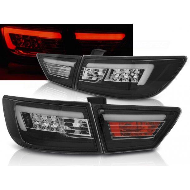 Baklykter RENAULT CLIO IV 13- HATCHBACK LED BAR BLACK